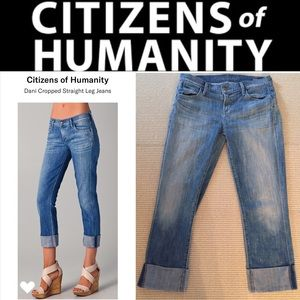 "Citizens of Humanity cropped ""Dani"" jeans"